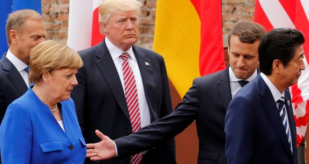 Image result for trump g7 images