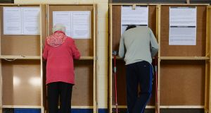 It will be 2025 at the earliest before overseas citizens will be eligible to vote. Photograph: Alan Betson