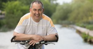 Wheel deal: Carlow GAA Football Manager Turlough O'Brien has just published a book, 'Cycling South Leinster: Great Road Routes'. Photograph: Dylan Vaughan