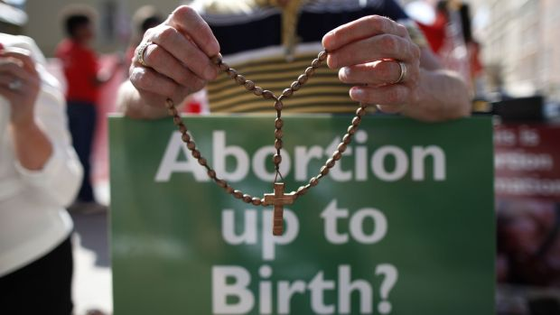 Pro Life Campaign spokeswoman Cora Sherlock said once the implications of amending the current law become clear over the course of a referendum people will change their minds. Photograph: The Irish Times