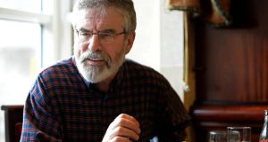 Sinn Féin president Gerry Adams had already initiated defamation proceedings against the BBC in March. Photograph: Eric Luke