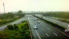 Driver reversing on motorway causes multiple accidents in China