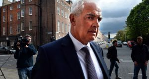 "Former master of the National Maternity Hospital Dr Peter Boylan said the thanks of the State should go to the Sisters of Charity for their ""brave decision"" and to the Minister for Health. Photograph: Dara Mac Donaill/The Irish Times"