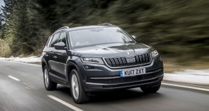 Skoda Kodiaq: its roomy back seats make it ideal for family life