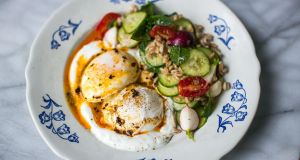 Donal Skehan's Turkish egg and grain salad