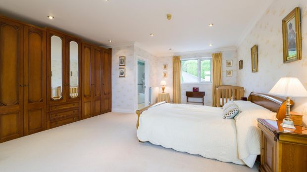 Cobblers Bank, Howth: master bedroom