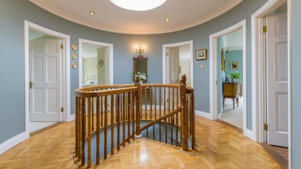 Cobblers Bank, Howth: the bedrooms meet at a cupola with a staircase built by Tiernans
