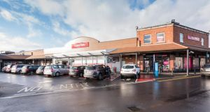 The SuperValu in Bray, Co Wicklow: Tthe store, owned by Friends First for the past decade, has been bought by the Musgrave Group for more than €9m.
