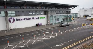 Ireland West Airport Knock  handled 134,000 passengers in the first quarter of 2017, a 9.1 per cent increase on the same period last year.