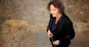 Nathalie Stutzmann, RTÉ NSO's principal guest conductor, conducts five concerts in the 2017-2018 season. Photograph: Simon Fowler
