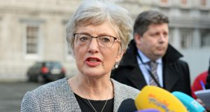 Child protection: Minister for Children Katherine Zappone. Photograph: Eric Luke