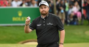 Shane Lowry: can focus on the positives ahead of the busiest time of the season.  Photograph:  Ross Kinnaird/Getty