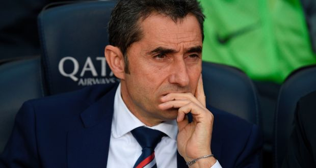 ernesto valverde has been appointed as the new coach of fc barcelona photograph getty