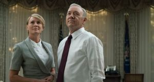Power couple: the Underwoods contemplate their evil empire in the new series of House of Cards. Photograph: Netflix