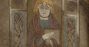 Image of St John from the 'Book of Dimma'