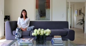 Interior designer Denise Ryan in her Luxembourg home
