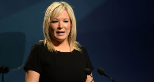 Michelle O'Neill, Sinn Féin's leader in Northern Ireland. Photograph: Dara Mac Dónaill