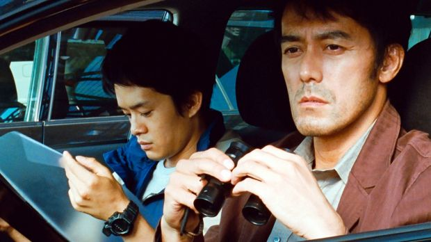 Sosuke Ikematsu and Hiroshi Abe in After the Storm