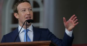 Big influence:  If Mark Zuckerberg was planning a run at the next US presidential campaign, he would have a powerful strategic tool in Facebook. Photograph: Brian Snyder/Reuters