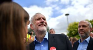 "Britain's  Labour Party leader Jeremy Corbyn: accused the prime minister of having ""difficulty meeting anybody"". Photograph: Ben Stansall/AFP/Getty Images"