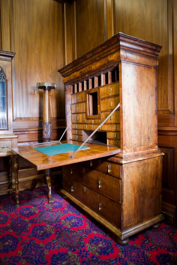 Swift's writing desk at St Patrick's Cathedral