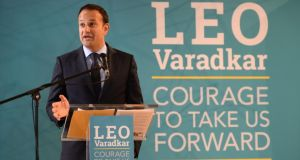 Leo Varadkar: the big question is whether he has the temperament and the stamina to step into the taoiseach's role. Photograph: Dara Mac Dónaill