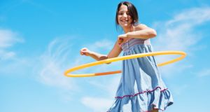Tech-free toy - the hula hoop