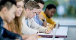 Earlier this year, Minister for Education Richard Bruton announced a proposal to raise an additional €200 million for the sector through increases in employer's PRSI to the national training fund. Photograph: Istock