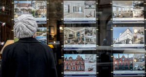 House prices in London are predicted to fall in real terms across 2017 –  marking the first time this has happened since 2011 –  according to an index. Photograph: Lauren Hurley/PA Wire