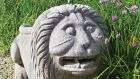 Sheppard's garden sale: 18th-century carved limestone lion from Crofton estate, Co Roscommon, €3,800 (Lot 44, €4,000-€6,000)