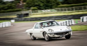 The Mazda Cosmo 110S Coupe, powered by a tiny 110hp twin-rotor engine, was the start of a rotary love affair for the Japanese brand