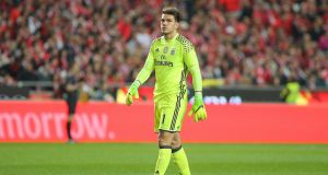 Manchester City have signed Ederson from Benfica for a British record fee for a goalkeeper. Photo: Getty Images