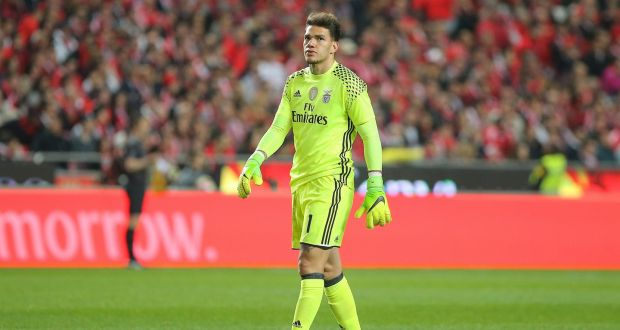 28600ee25d9 Manchester City have signed Ederson from Benfica for a British record fee  for a goalkeeper.