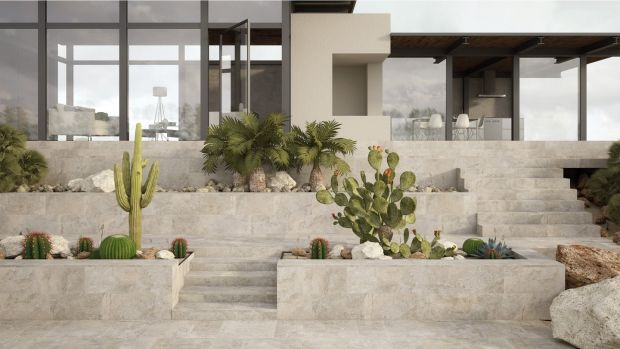 Halo Tiles has some new textured porcelain ranges from Italy, which come in varying sizes and thicknesses