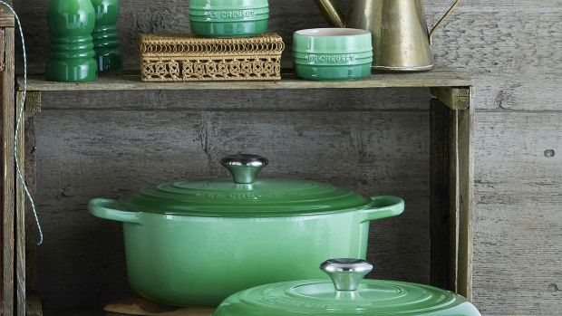 Pot envy: new green casserole dishes from Le Creuset