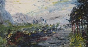 'Early Morning, Cliffony', by Jack B Yeats: Adam's sale, €70,000 (€25,000-€35,000)