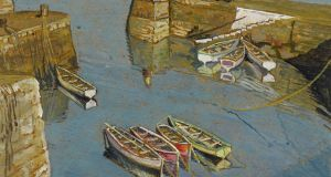 'Coliemore Harbour, Dalkey, Co Dublin', by Harry Kernoff : Whyte's sale, €5,600 (€1,500-€2,000)
