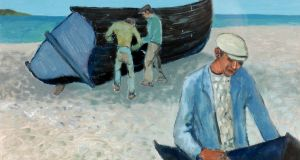 'Men and Boats', by Gerard Dillon: Whyte's sale, €36,000 (€5,000-€7,000)