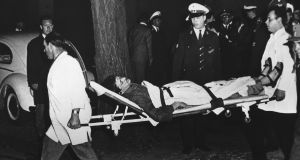 Benno Ohnesorg after being shot. Photograph: Henschel/Ullstein Bild via Getty Images