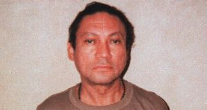 Manuel Noriega in a photo released by the US Marshals Service in January, 1990. Noriega, the brash former dictator of Panama and sometime ally of the US, died on May 29th, 2017.