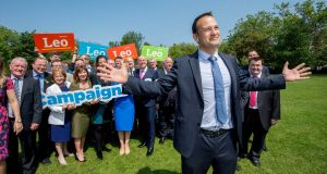 'Concepts of left and right don't work in modern politics and probably never really worked in Ireland because of our history', says  Leo Varadkar. Photograph: Brenda Fitzsimons