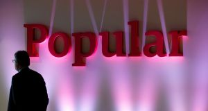 Banco Popular rose 4 per cent early Friday morning, recovering some ground after Thursday's sharp sell-off on jitters around the bank's liquidation. (Photograph: Reuters)