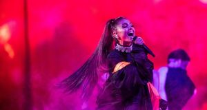 Ticketmaster set aside free tickets to a benefit concert fronted by Ariana Grande for 14,200 people who were at the singer's Manchester Arena gig. Photograph; Chad Batka/The New York Times