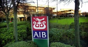 AIB headquarters, Dublin: the bank group made profits of more than €1.6 billion last year, allowing the planned stockmarket float to go ahead. Photograph: Bryan O'Brien
