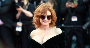 Actress Susan Sarandon attends the 'Ismael's Ghosts' screening and Opening Gala during the 70th annual Cannes Film Festival. Photograph: Antony Jones/Getty