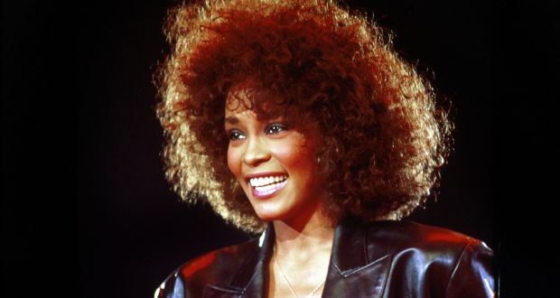 In her prime  a youthful Whitney Houston on stage in June 1988  Photograph. The sad  secret life of Whitney Houston