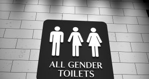 A number of the college's disability access bathrooms were upgraded to Universal Access Bathrooms. File photograph: Getty Images