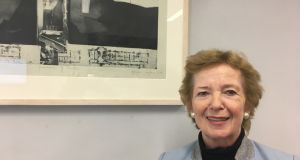 "Former president Mary Robinson: ""What will become evident is that America is no longer the leader on progressive values because of what Trump is doing.""Photograph: Peter Murtagh"