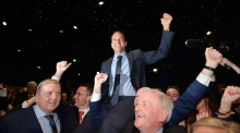 Leo Varadkar is elected youngest ever leader of Fine Gael