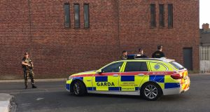 Explosive devices were discovered when gardaí stopped and searched a vehicle in Ballybough, Dublin, at about 6pm.